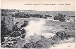 44. LE CROISIC. La Grande Côte Vers Batz, Marée Montante. 51 - Le Croisic
