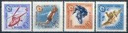 Russie 1959  Y&T N° 2233/2236 **  MNH  CV: 4.00 €