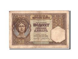Serbie, 50 Dinara, 1941, 1941-05-01, KM:26, B+ - Serbie