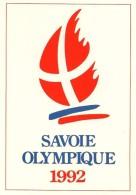 SAVOIE OLYMPIQUE 1992 - édit. SECA - Divisé- Non Circulé - (3) - Jeux Olympiques