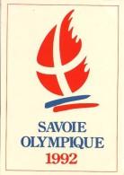 SAVOIE OLYMPIQUE 1992 - édit. SECA - Divisé- Non Circulé - (5) - Jeux Olympiques