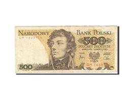 Pologne, 500 Zlotych, 1974-1976, 1982-06-01, KM:145d, TB - Polen
