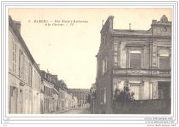CPA 72 - MAMERS (Sarthe) - 3. Rue Denfert Rochereau Et La Caserne - LL - Mamers