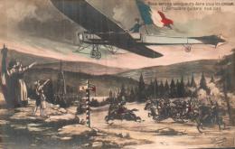 NOUS SERONS VAINQUEURS DANS TOUS LES COMBATS L'AEROPLANE GUIDERA NOS PAS PAS CIRCULEE - Guerra 1914-18