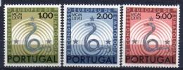 PIA - PORTOGALLO  - 1967  : Congresso Europeo Di Reumatologia  - (Yv 1021-23) - Medicina