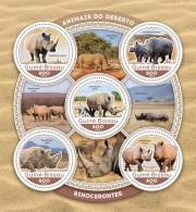 GUINEA BISSAU 2016 - Rhinoceros. Official Issue
