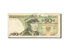 Pologne, 50 Zlotych, 1974-1976, 1988-12-01, KM:142c, B - Pologne