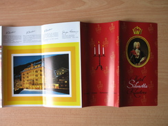 HOTEL SILVRETTA,KLOSTERS.SWITZERLAND - Dépliants Turistici