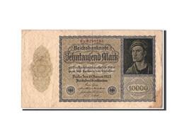 Allemagne, 10,000 Mark, 1922, KM:71, 1922-01-19, B+ - [ 3] 1918-1933: Weimarrepubliek