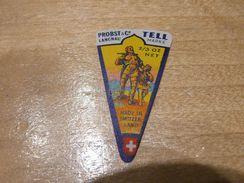 Cheese Queso Kase Label Etikette Etiqueta ~1920-1950 TELL LANGNAU SUISSE - Cheese