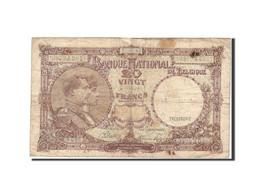 Belgique, 20 Francs, 1940, KM:111, 1945-01-27, TB - [ 6] Treasury