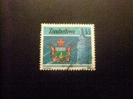 ZIMBABWE 1985 ESCUDO DE ARMAS Yvert & Tellier Nº 104 º FU - Zimbabwe (1980-...)