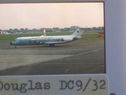 DIAPOSITIVA / SLIDE  -  DOUGLAS DC9/32 AERONAUTICA MILITARE ITALIANA 31-12 - Diapositive