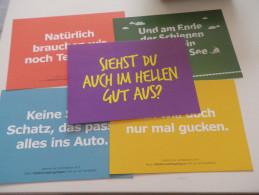 ALLEMAGNE - PUBLICITE X5 - DB IKEA - Werbepostkarten