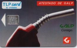 PORTUGAL TLP PHONECARD(CHIP) GALP ATESTADO-8/91-7500pcs -MINT(bx1) - Portugal