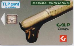 PORTUGAL TLP PHONECARD(CHIP) GALP MAXIMA-8/91-7500pcs -MINT(bx1) - Portugal
