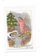 9381 - CPA  Allemande : NOEL, Enfants, Jouets, Anges, - Autres