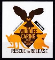 Australia 2010 Wildlife Caring - Rescue To Release Self-adhesive AP Sticker