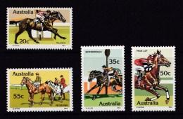 Australia 1978 Horse Racing Set Of 4 MNH - 1966-79 Elizabeth II