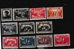 Prince Albert 1er Vues Principauté - Unused Stamps