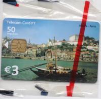 PORTUGAL TELECOM PHONECARD(CHIP) RIBEIRA/PORTO-5/02-3000pcs -MINT/SEALED(bx1) - Portugal