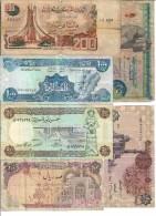 Arabic Countries Lot 14 Banknotes - Banconote