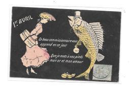 9386 - CPA 1er AVRIL, - April Fool's Day