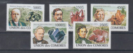 Comores 2008 Mnh Minerals