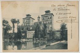 Exposition Universelle Paris June 13, 1900 Residence  S.M. I. Le Shah Un Vieux Persan De Teheran à Ses Amis Surdian Khan - Iran
