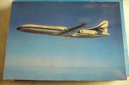 AIR FRANCE CARAVELLE    EDITION   BERINGER - 1946-....: Ere Moderne