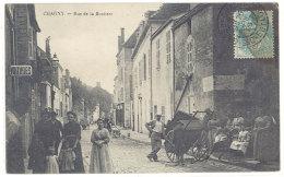 Cpa Chagny - Rue De La Boutière    ((S.379)) - Chagny