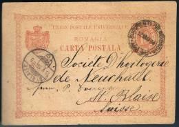 Romania, 1894, For St. Blaise - 1881-1918: Carol I.