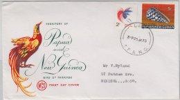 Papua New Guinea, Illustr. Umschlag/Brief Lae 1973 - Papouasie-Nouvelle-Guinée