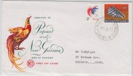 Papua New Guinea, Illustr. Umschlag/Brief Lae Papua-New Guinea 1973 - Papouasie-Nouvelle-Guinée
