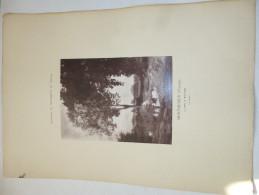 VIENNE  - MORTHEMER  -  Le Lavoir.  Gravure . Paysages Et Monuments Du Poitou De Jules Robuchon. - Old Paper