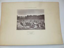 VIENNE  - SANXAY  -  Le Balnéaire.   Gravure . Paysages Et Monuments Du Poitou De Jules Robuchon. - Old Paper
