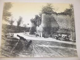 VIENNE  - MIREBEAU - Fortification Du Château  Photo  Fond De Jules Robuchon. - Old Paper