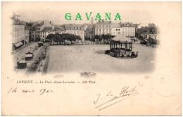 56 LORIENT - La Place Alsace-Lorraine - Lorient
