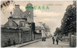 35 SAINT-SERVAN - La Rue Dreux - Saint Servan