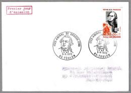 Almirante F.J. PAUL DE GRASSE (1722-1788) - Independencia De Los Estados Unidos. SPD/FDC Toulon 1972 - Unabhängigkeit USA