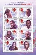 Sierra Leone 2015, Ebola Virus, Red Cross, 8val In BF