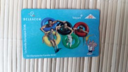Phonecard Olympic Familie Used - Jeux Olympiques