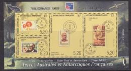 TAAF 1999 Philexfrance M/s ** Mnh (33004) - Blokken & Velletjes