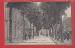 St Pierre Le Moutier --  La Poste Et Le Boulevard - Saint Pierre Le Moutier