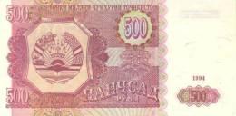 TAJIKISTAN P.  8a 500 R 1994 UNC - Tadzjikistan