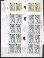 South Georgia 1999 Millennium 6v Sheetlets (unfolded)  ** Mnh (F5813) - Zuid-Georgia