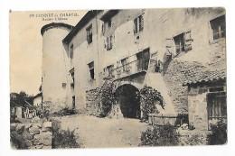 SAINT-BONNET-LE-CHASTEL  (cpa 63)   Ancien Château -   - L 1 - France