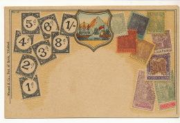 Trinidad Embossed Stamp Card  No 58 Edit Wenzel Port Of Spain  Gaufrée - Trinidad