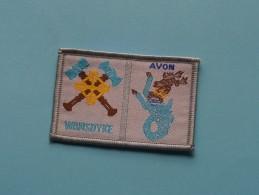 Boy Scouts Badge : AVON - WANSDYKE ( Zie Foto Voor Detail ) ! - Padvinderij