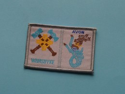 Boy Scouts Badge : AVON - WANSDYKE ( Zie Foto Voor Detail ) ! - Scoutisme
